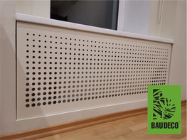 Экран для чугунного радиатора
