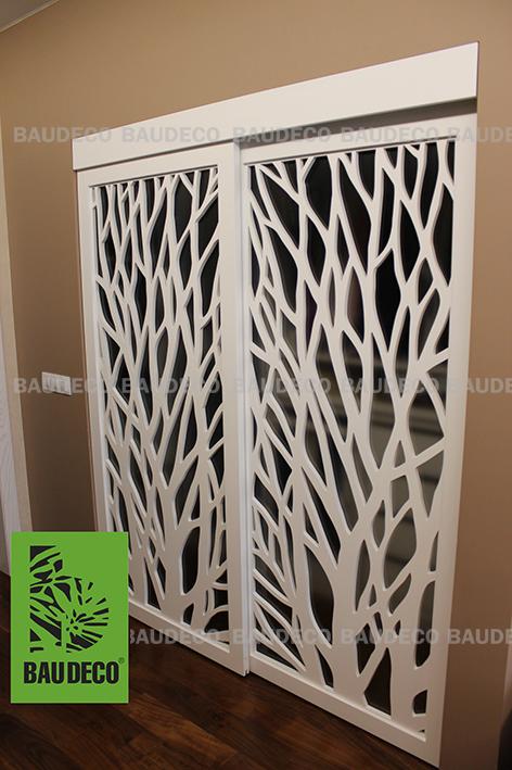 Раздвижные двери в гардероб фото