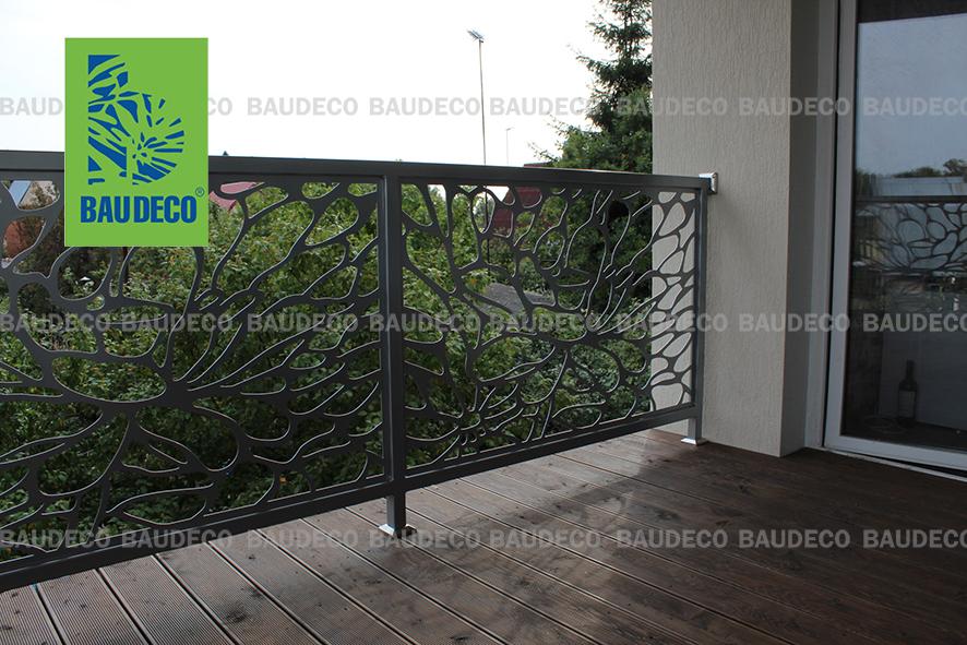 Дизайнерское ограждение для балкона