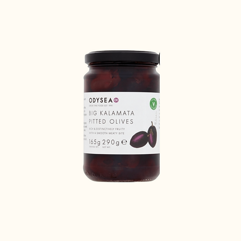 ODYSEA BIG KALAMATA OLIVES (290G)