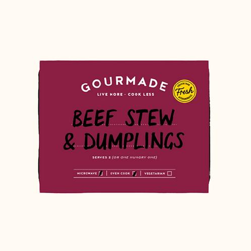 GOURMADE BEEF STEW & DUMPLINGS