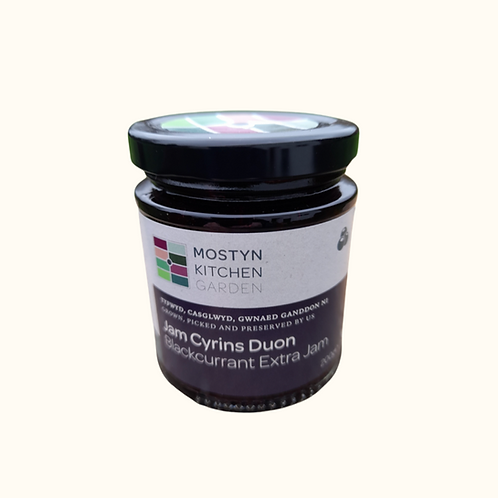 MOSTYN KITCHEN GARDEN BLACKCURRANT EXTRA JAM 200g