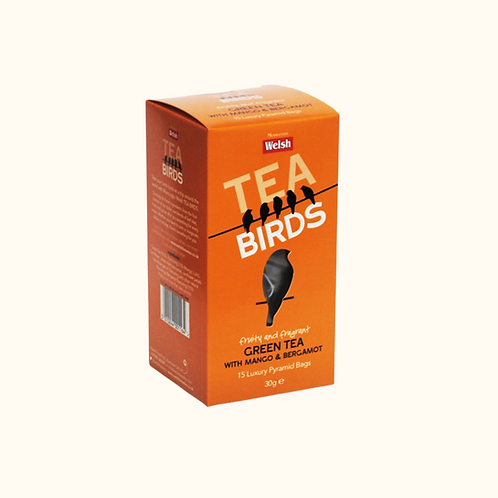 WELSH BREW GREEN TEA WITH MANGO & BERGAMOT 30g
