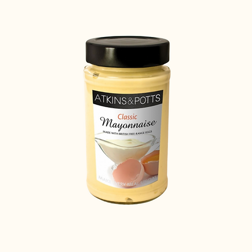 ATKINS AND POTTS CLASSIC MAYONNAISE 200g