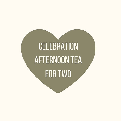 CELEBRATION AFTERNOON TEA FOR TWO
