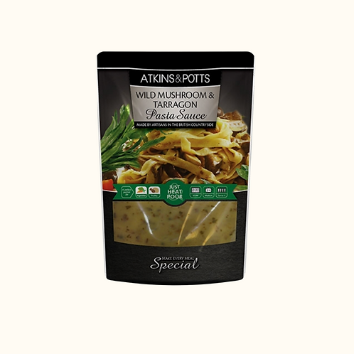 ATKINS AND POTTS MUSHROOM SAUCE 200g