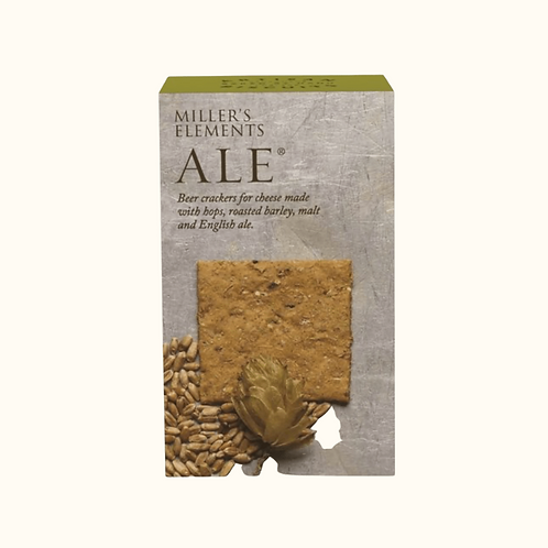 Miller's Elements Ale Crackers100g
