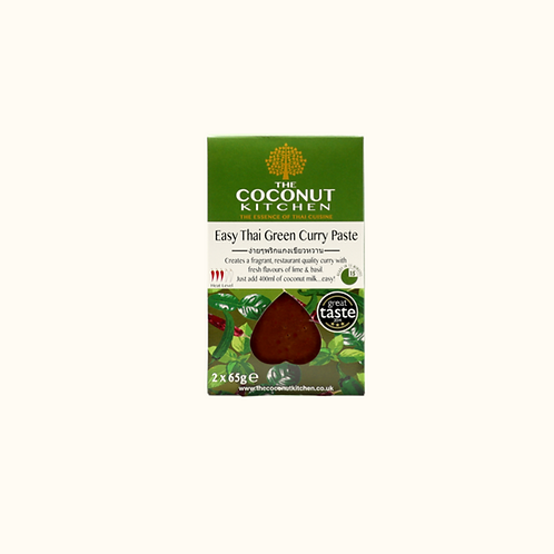 THE COCONUT KITCHEN EASY THAI GREEN CURRY PASTE 2x65g