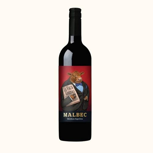 MALBEC LA VACA GORDA ARGENTINA 75cl