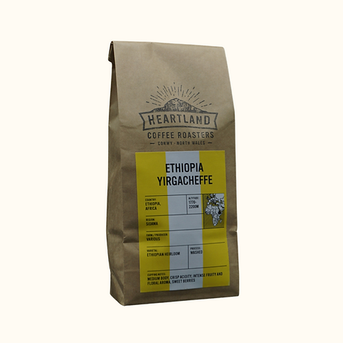 HEARTLAND COFFEE ETHIOPIA YIRGACHEFFE BLEND (GROUND) 250g
