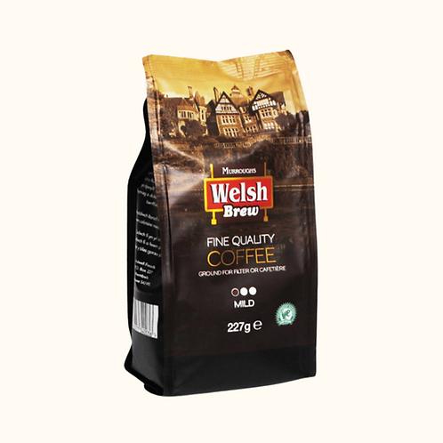 WELSH BREW MILD GROUND COFFEE 227g