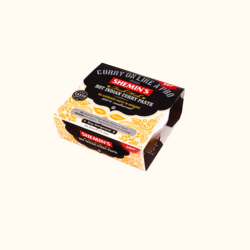SHEMIN'S HOT INDIAN CURRY PASTE 100g