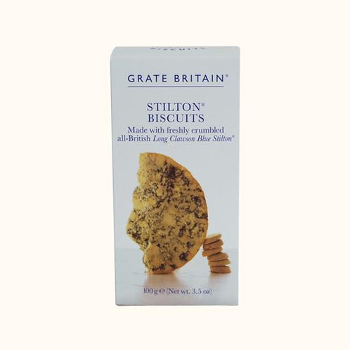 Grate Britain Stilton Cheese Biscuits