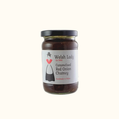 WELSH LADY CARAMELISED RED ONION CHUTNEY