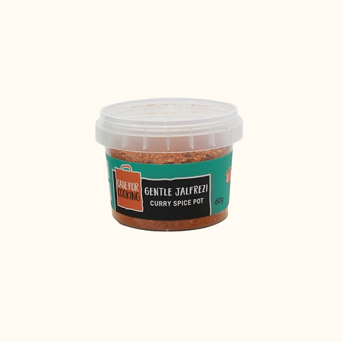 CASE FOR COOKING GENTLE JALFREZI SPICE POT 50g