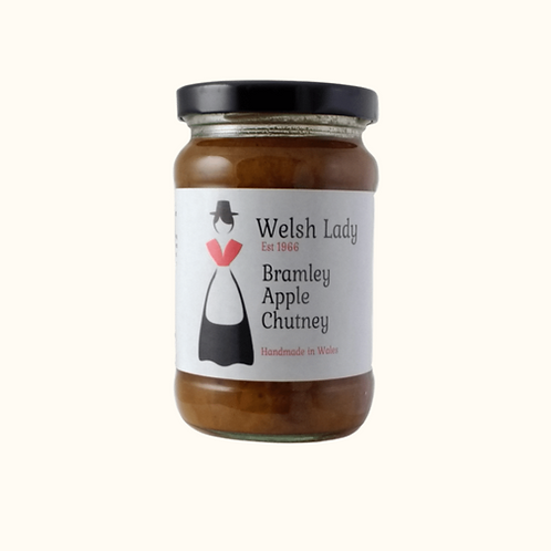 WELSH LADY BRAMLEY APPLE CHUTNEY  311g