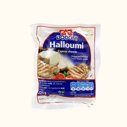 DODONI HALLOUMI CHEESE (225G)