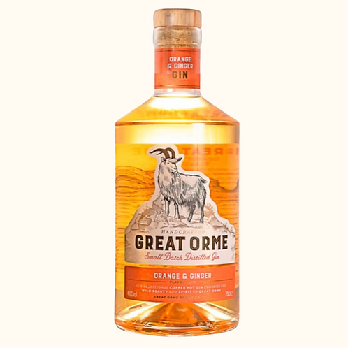 GREAT ORME ORANGE & GINGER GIN