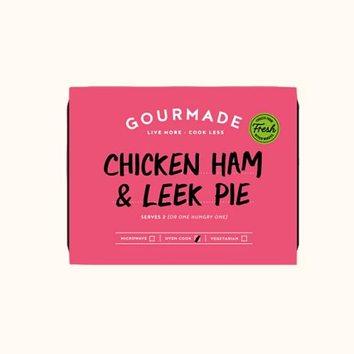 GOURMADE CHICKEN, HAM & LEEK PIE
