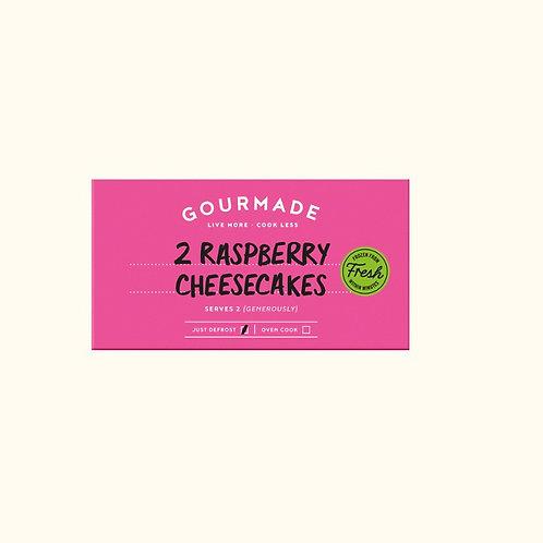 GOURMADE RASPBERRY CHEESECAKES