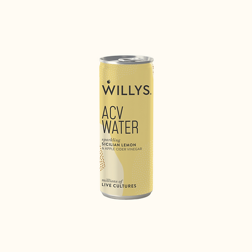 WILLY'S ACV WATER (SICILIAN LEMON) 250ml