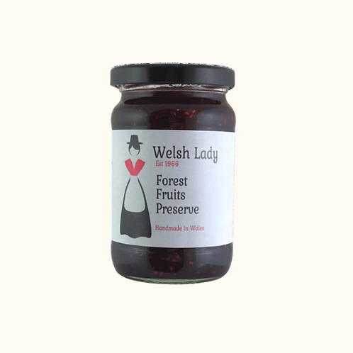 WELSH LADY FOREST FRUITS PRESERVE 340g