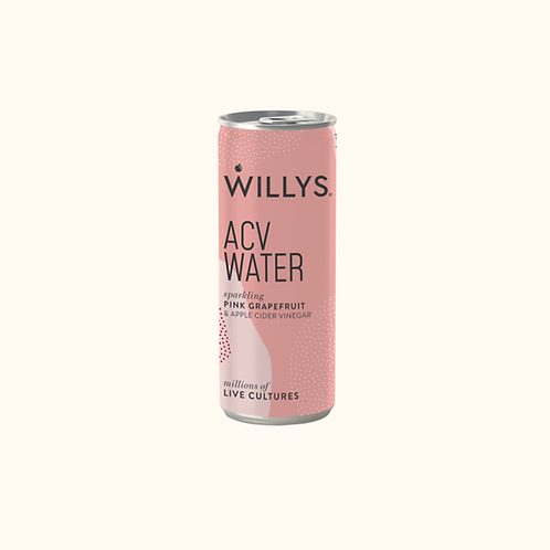 WILLY'S ACV WATER (PINK GRAPEFRUIT) 250ml