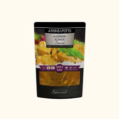 ATKINS AND POTTS KASHMIRI KORMA SAUCE 350g