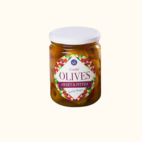 GORDAL SWEET AND PITTED OLIVES 665g