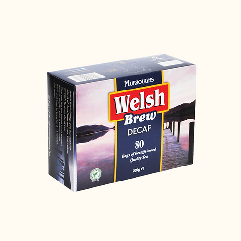WELSH BREW DECAF TEABAGS (80)