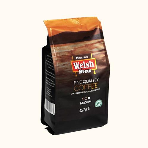WELSH BREW MEDIUM GROUND COFFEE 227g