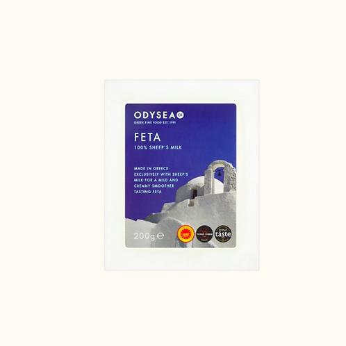ODYSEA PDO FETA CHEESE 100% SHEEP'S MILK (200G)
