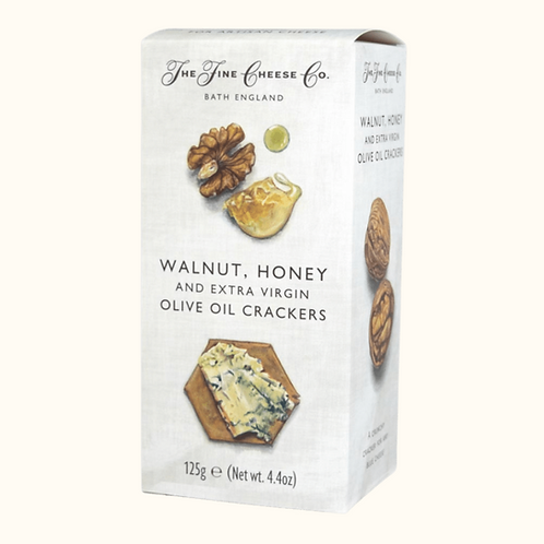 Walnut, Honey and Extra Virgin Olive Oil Crackers