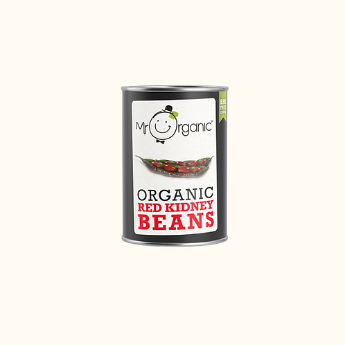 MR ORGANIC ORGANIC RED KIDNEY BEANS IN WATER