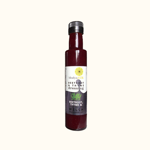 BLODYN AUR BEETROOT AND THYME DRESSING 250ml