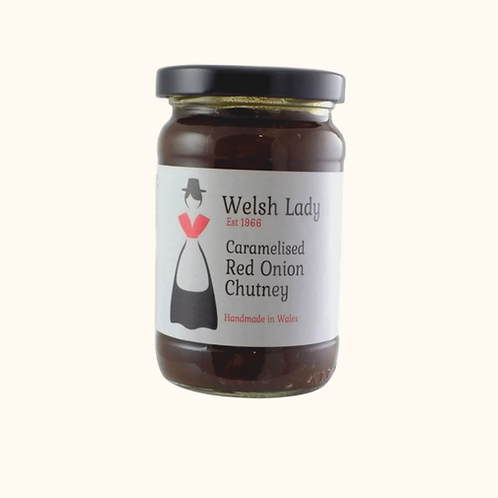 WELSH LADY CARAMELISED RED ONION CHUTNEY  330g