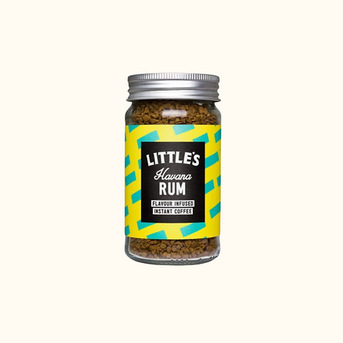 LITTLE'S HAVANA RUM INFUSED INSTANT COFFEE 50g