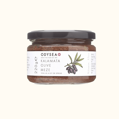 ODYSEA KALAMATA OLIVE MEZE WITH CAPERS (220G)