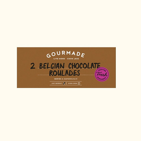 GOURMADE BELGIAN CHOCOLATE ROULADE