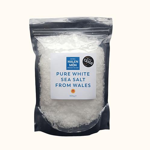 HALEN MON PURE WHITE SEA SALT 500G