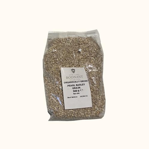 ORGANICALLY GROWN PEARL BARLEY GRAIN 500g