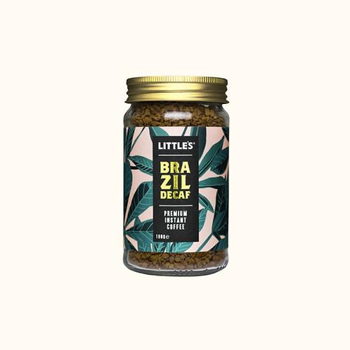 LITTLE'S BRAZIL DECAF PREMIUM INSTANT COFFEE 100g