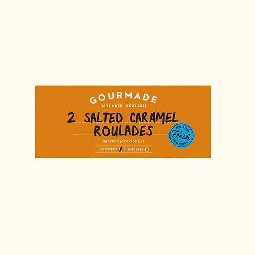 GOURMADE SALTED CARAMEL ROULADES