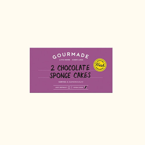 GOURMADE CHOCOLATE SPONGE PUDDINGS