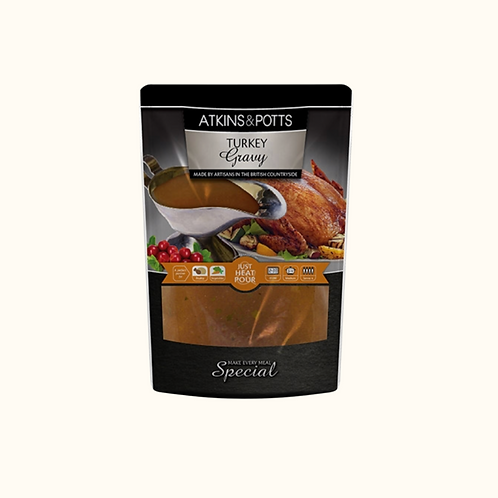 ATKINS AND POTTS TURKEY GRAVY 400g