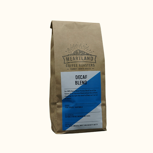 HEARTLAND COFFEE DECAF BLEND (GROUND) 250g