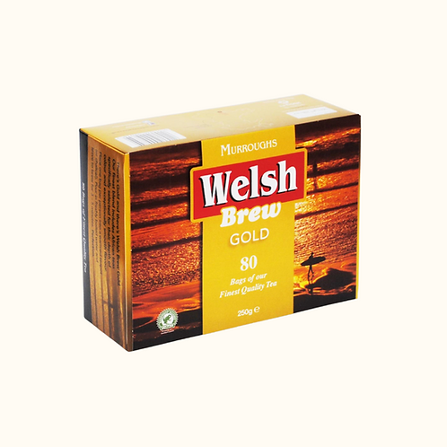 WELSH BREW GOLD TEABAGS (80)