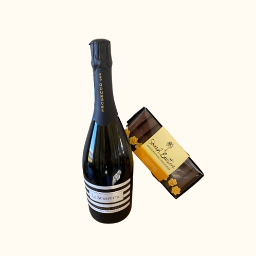 BODNANT PROSECCO AND CHOCOLATE HAMPER