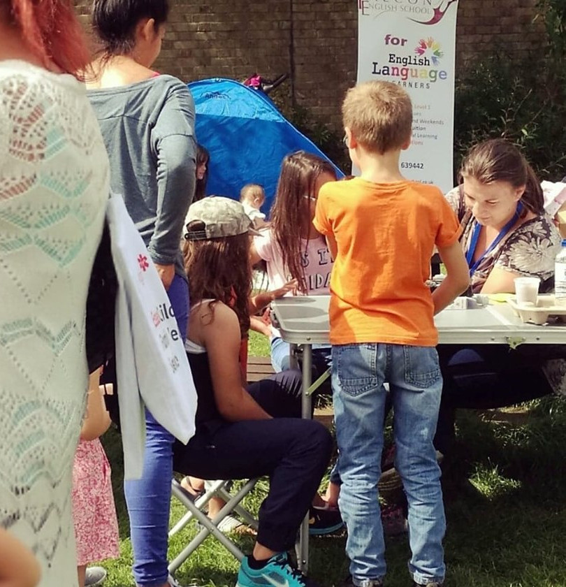 7 August 2019. National Play Day at Harlow Town Park.