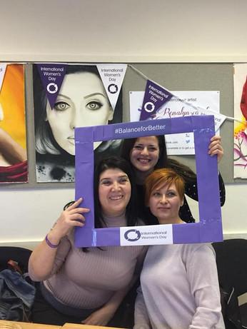 8 March 3029. International Women's Day at the Latton Bush Centre.